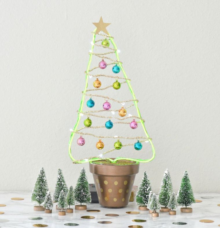 bolas de navidad cuerdas