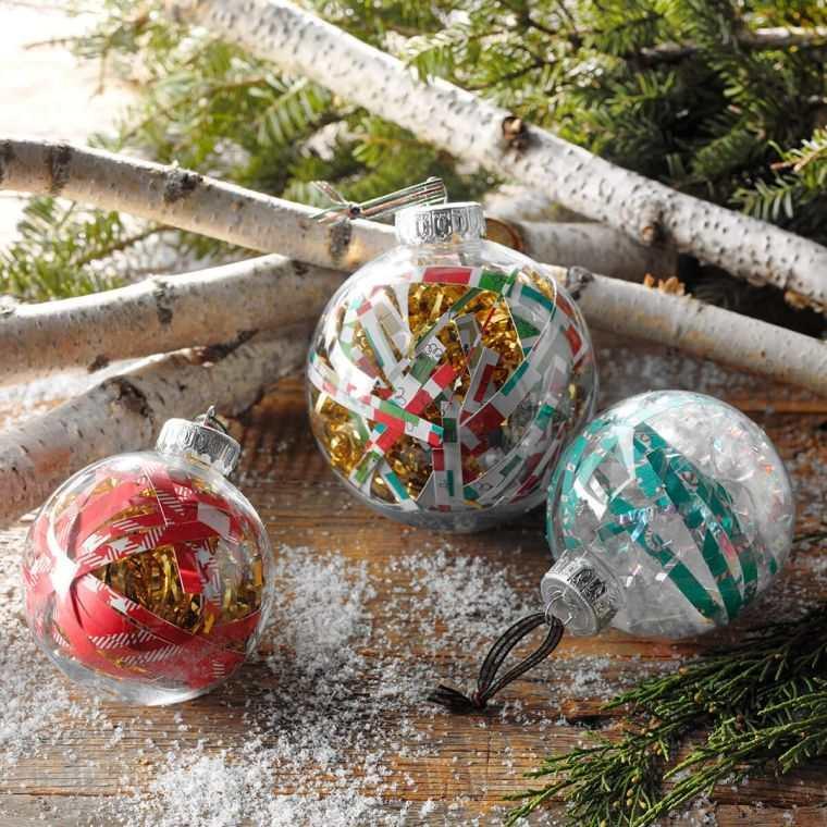 bolas de navidad diferentes