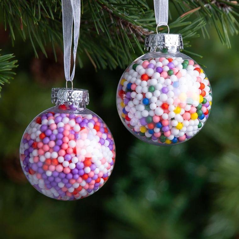 bolas de navidad divertida