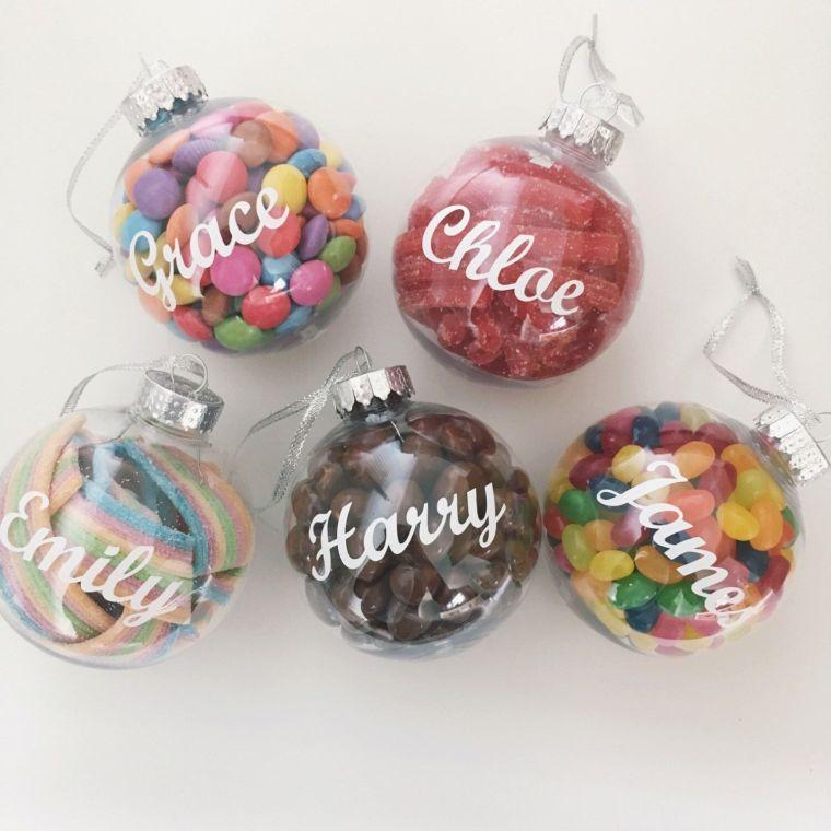 bolas de navidad dulce