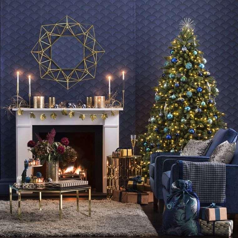 bolas de navidad festivo