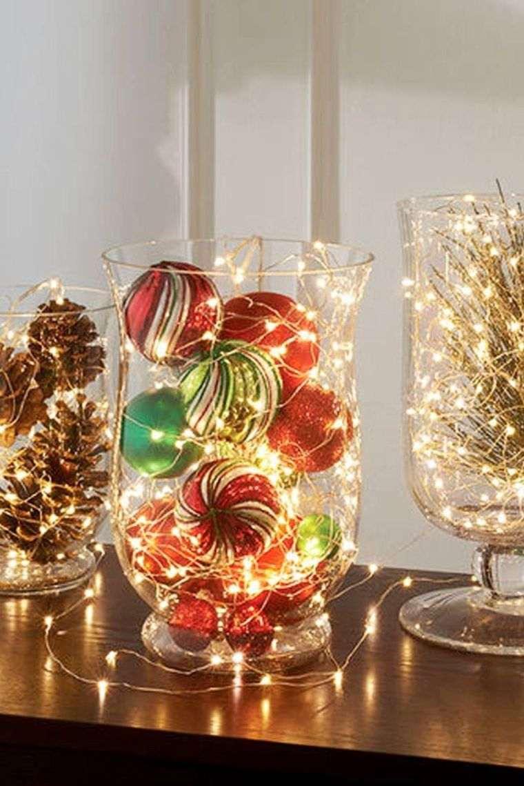 bolas de navidad luz