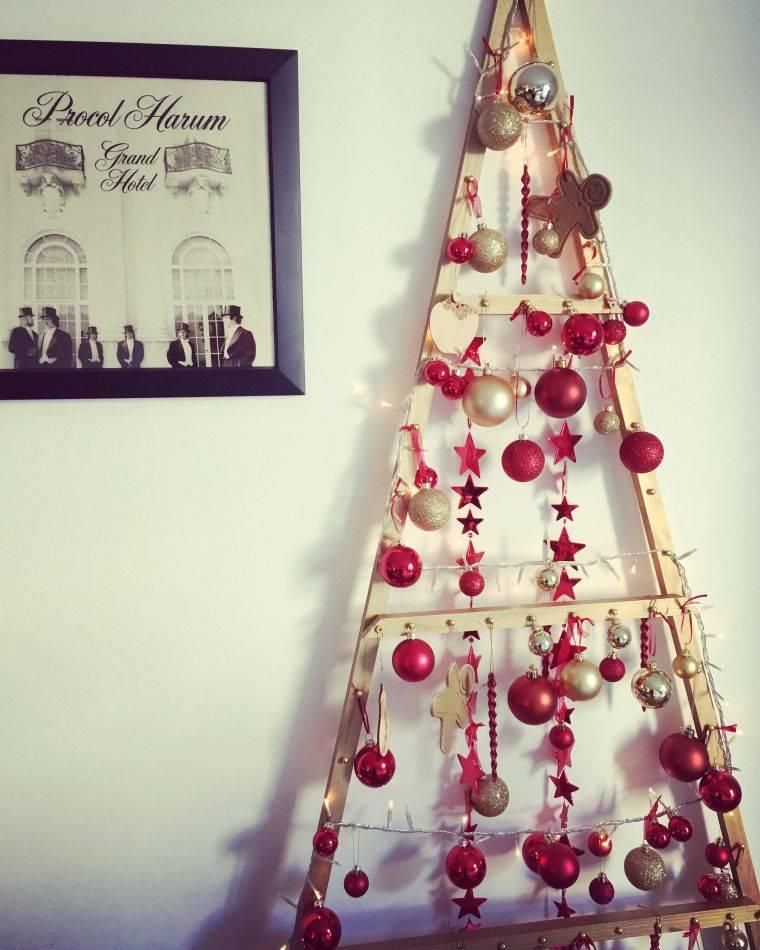 bolas de navidad madera