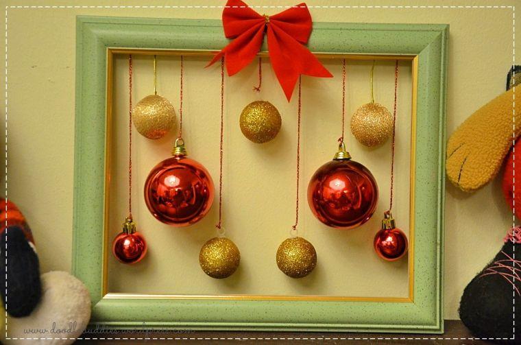 bolas de navidad marco