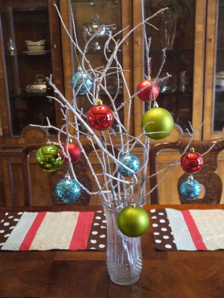 bolas de navidad ramas