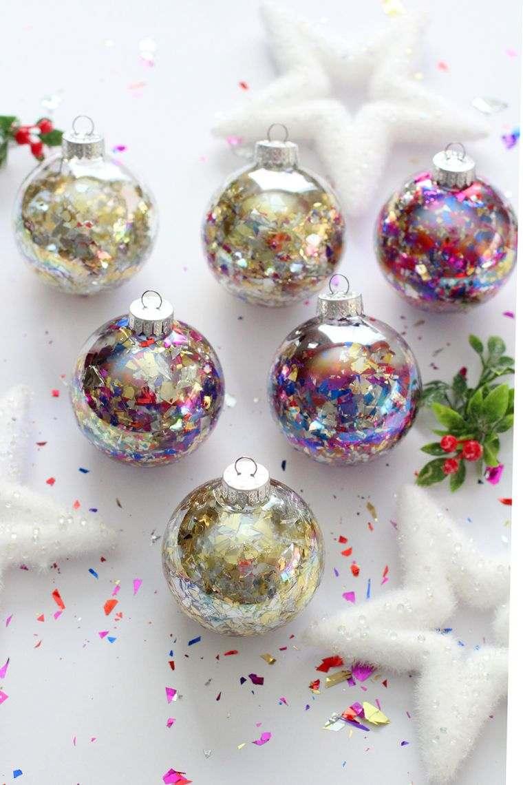 bolas de navidad rellenas