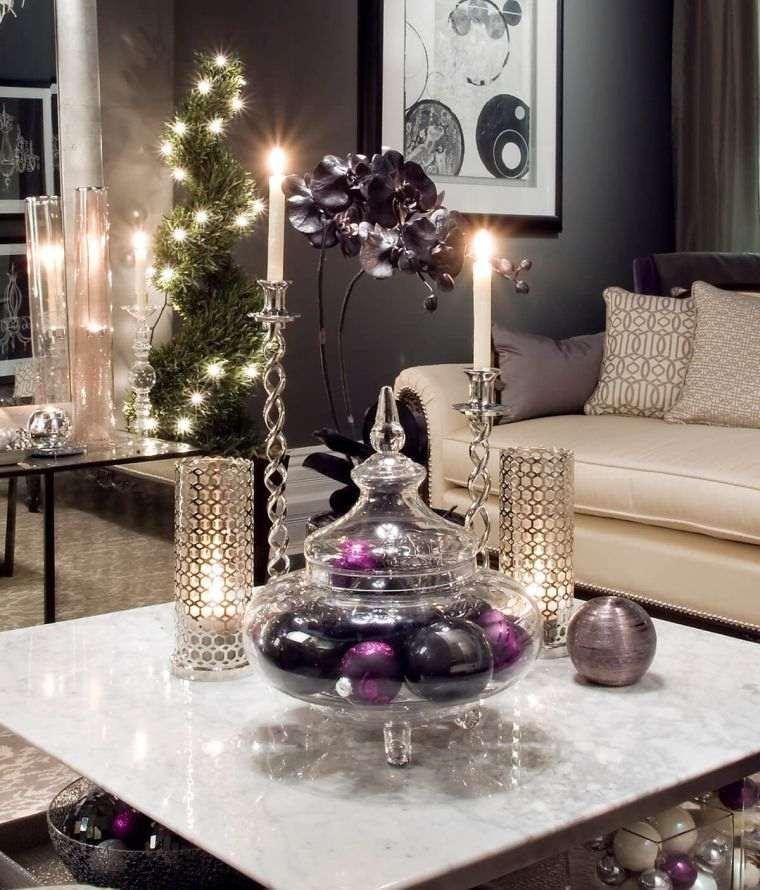 bolas de navidad romantico