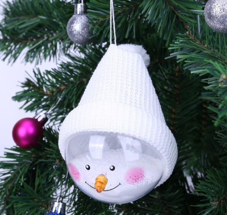 bolas de navidad sutiles