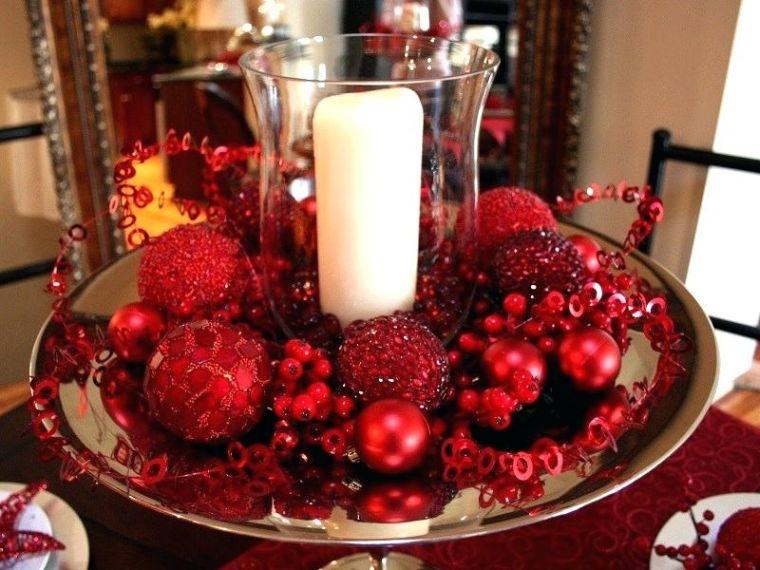 bolas de navidad vela