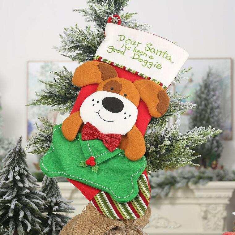 calcetin navideños mascota
