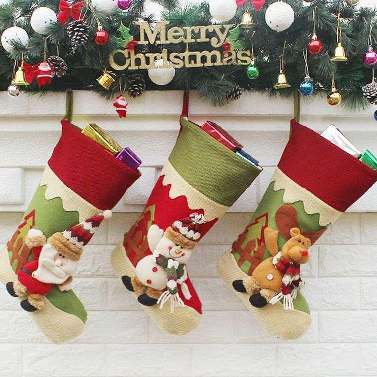 calcetines navideños decora