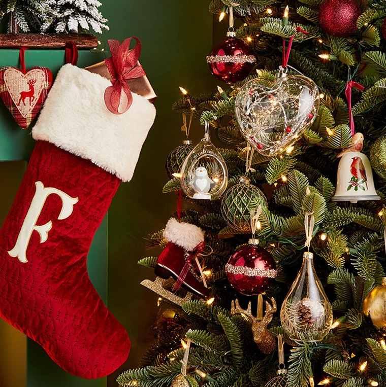 calcetines navideños llamativo