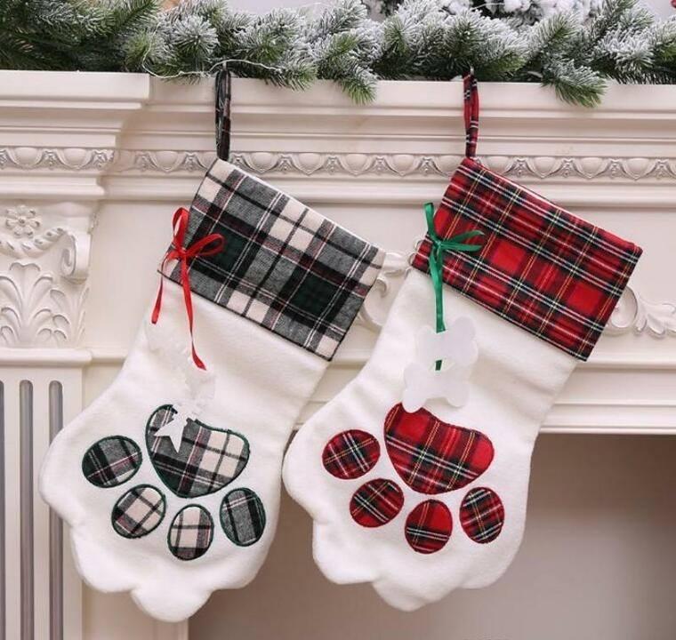 calcetines navideños mascotitas