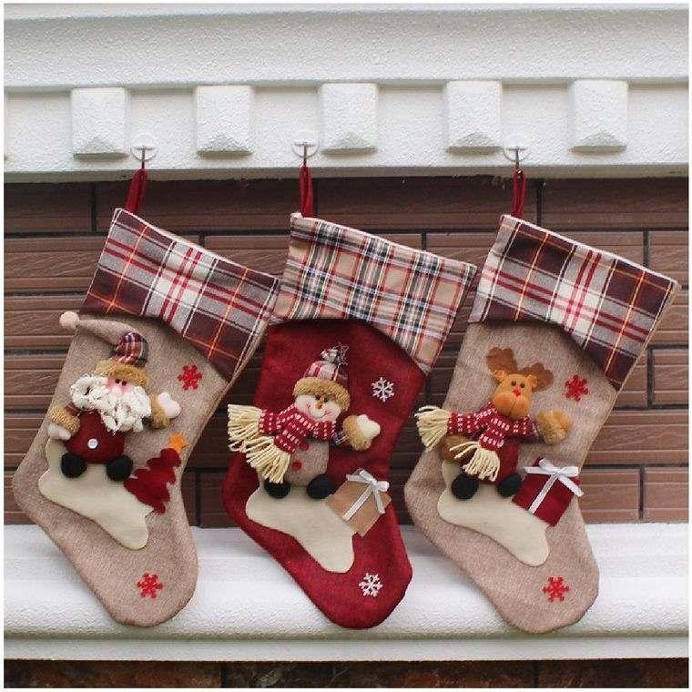 calcetines navideños obsequio