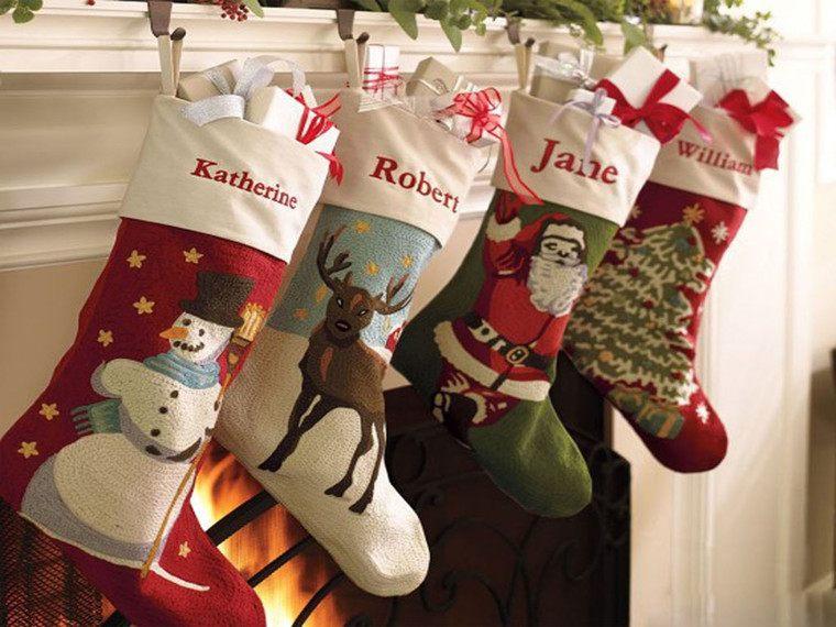 calcetines navideños personal