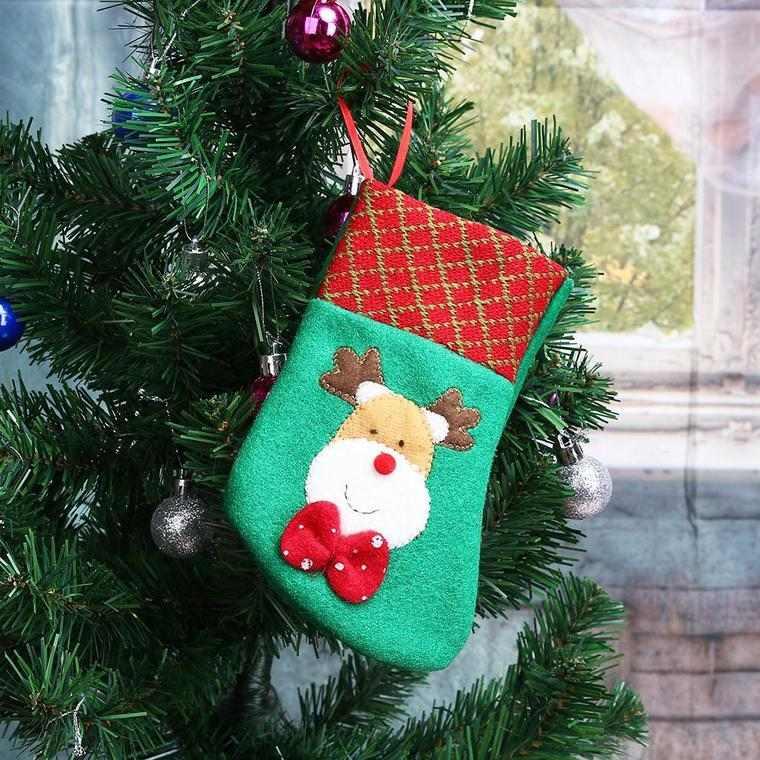 calcetines navideños reno