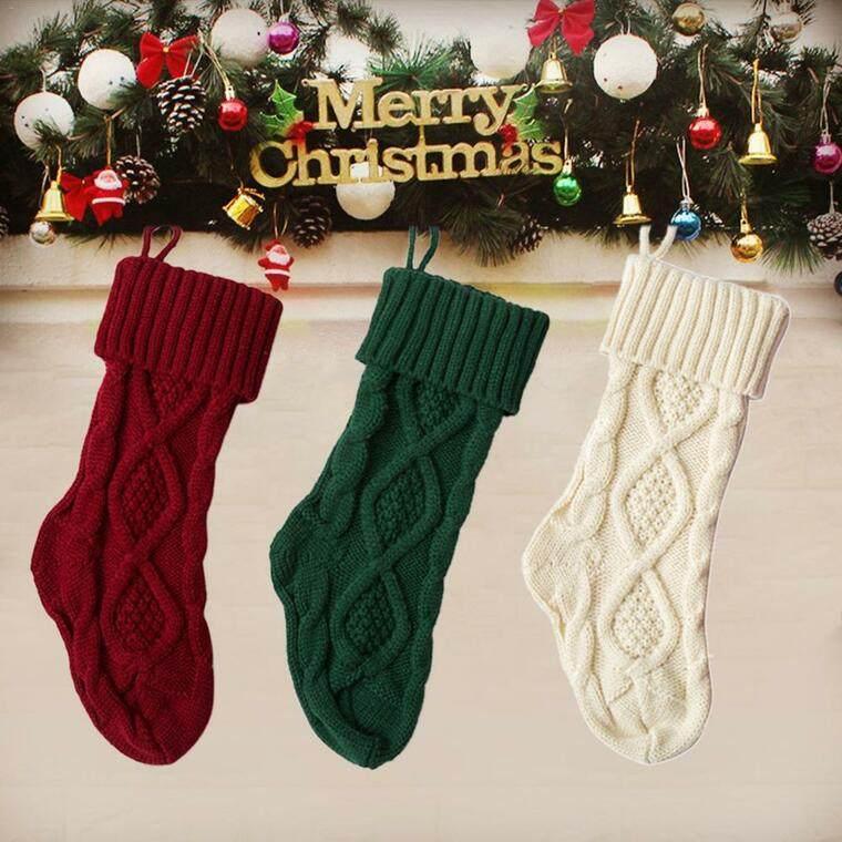 calcetines navideños sutil