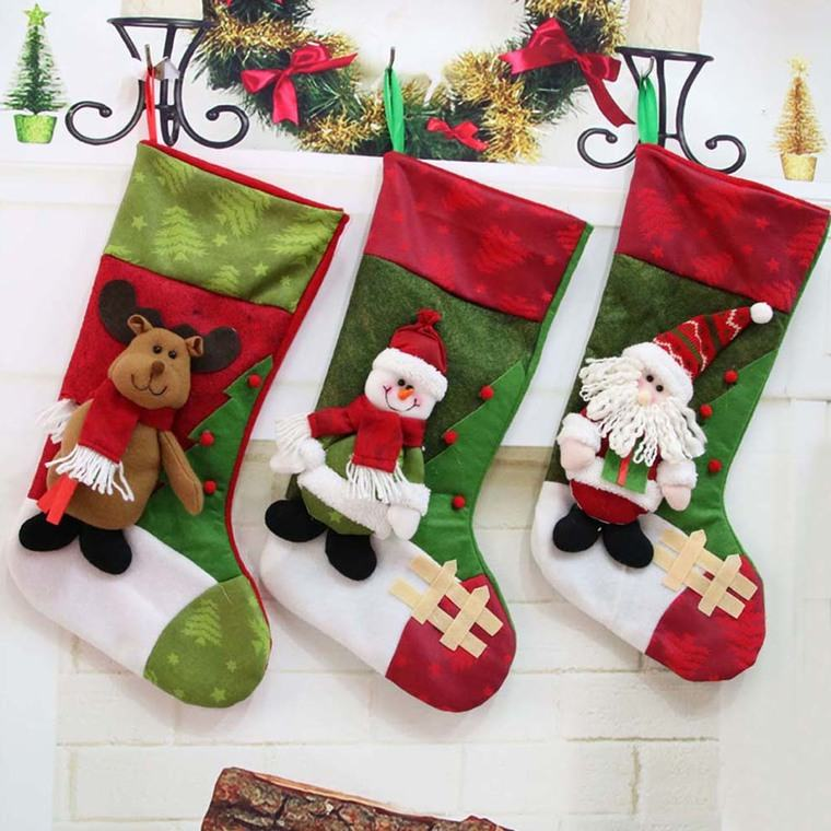 calcetines navideños tradicion