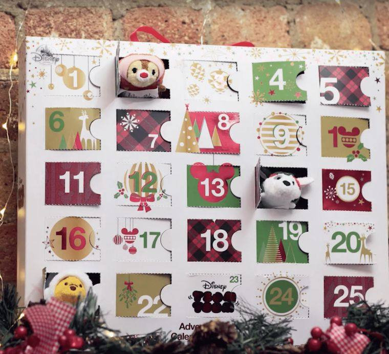 calendario de adviento peluche