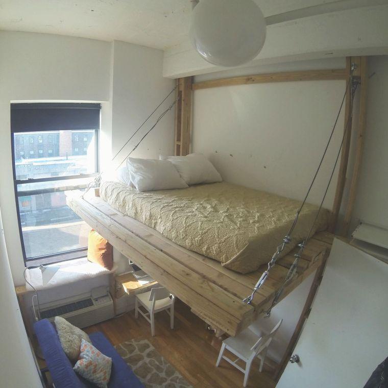 cama alta diferente