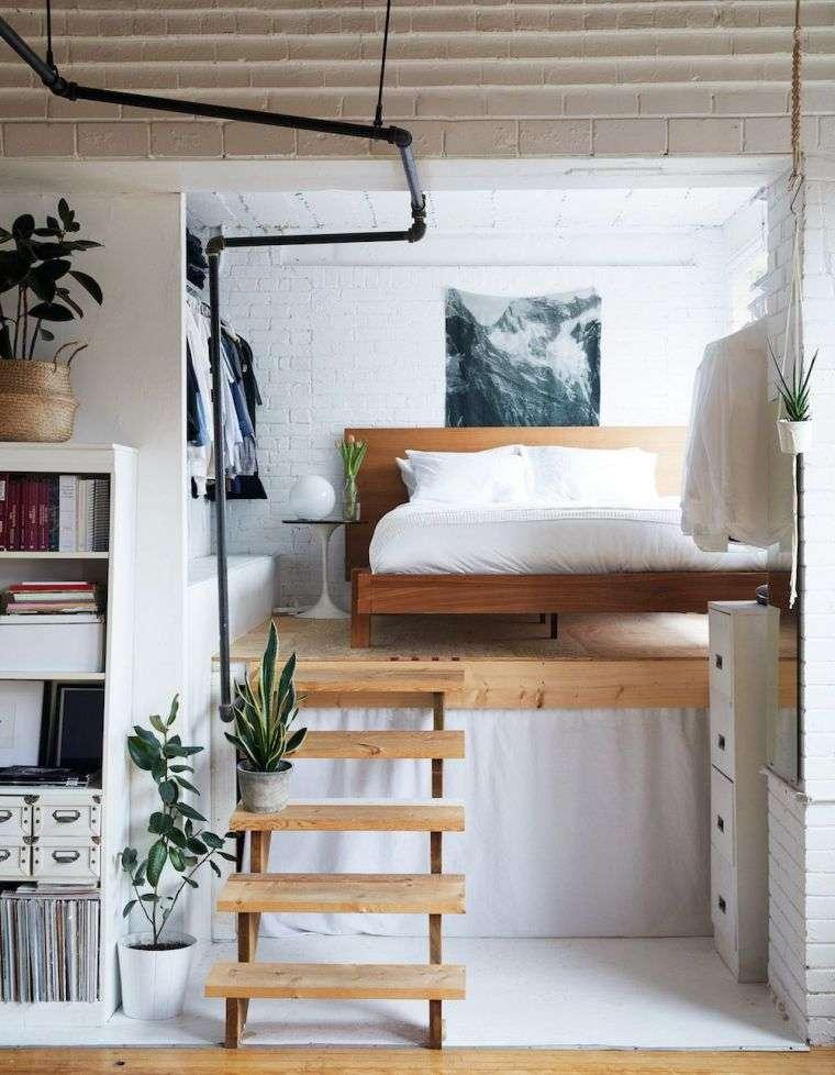 Cama alta – Camas tipo loft para adultos que te ayudan a maximizar el espacio