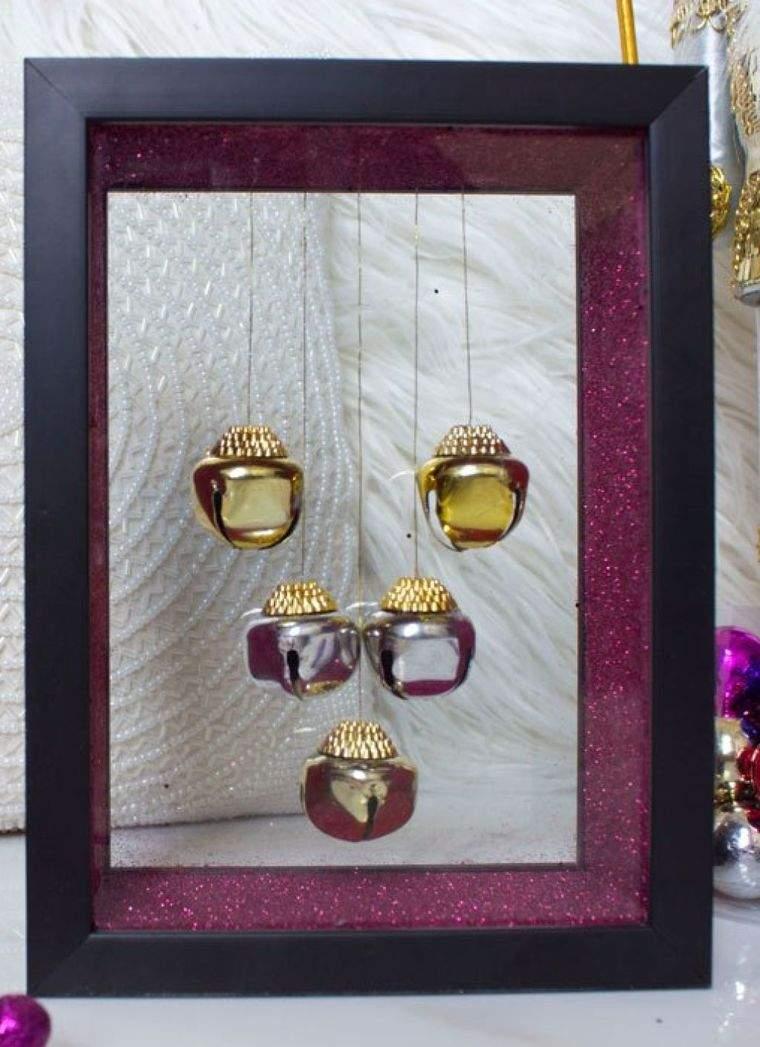 campanas de navidad adorno