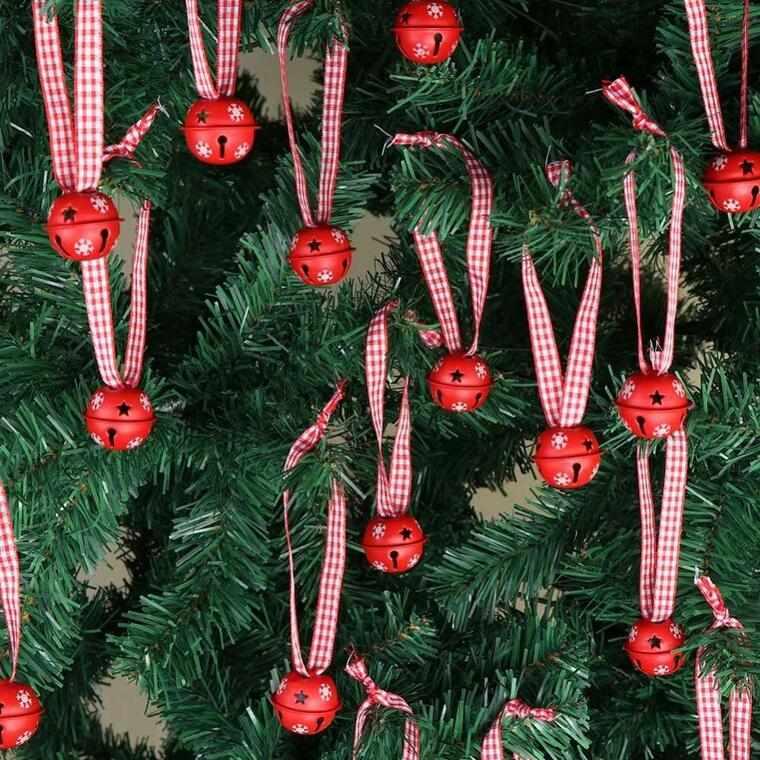 campanas de navidad arbol