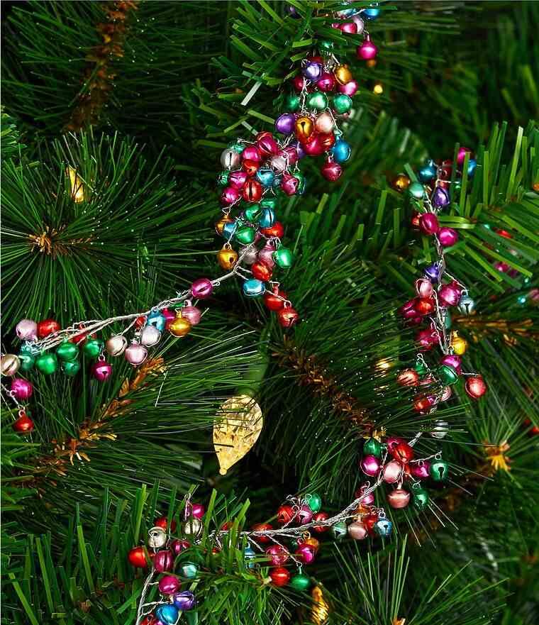 campanas de navidad guirnalda