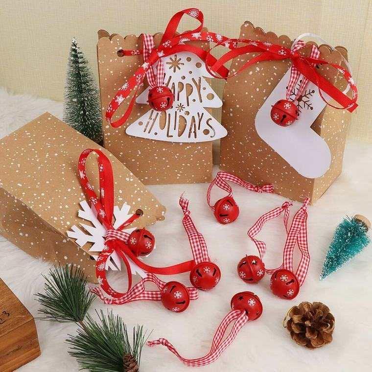 campanas de navidad obsequio
