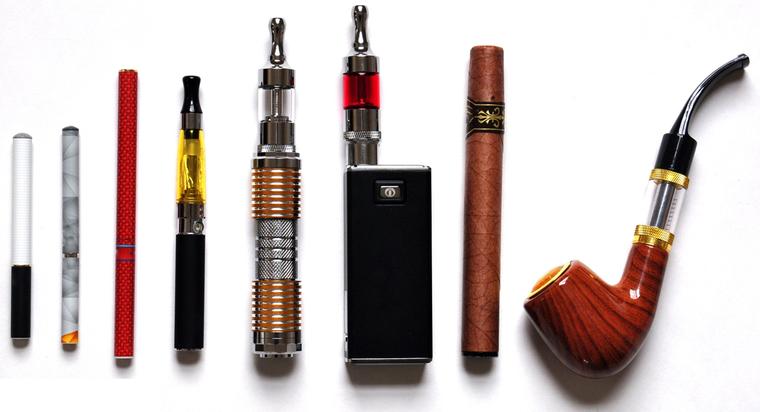 cigarro electrónico formas
