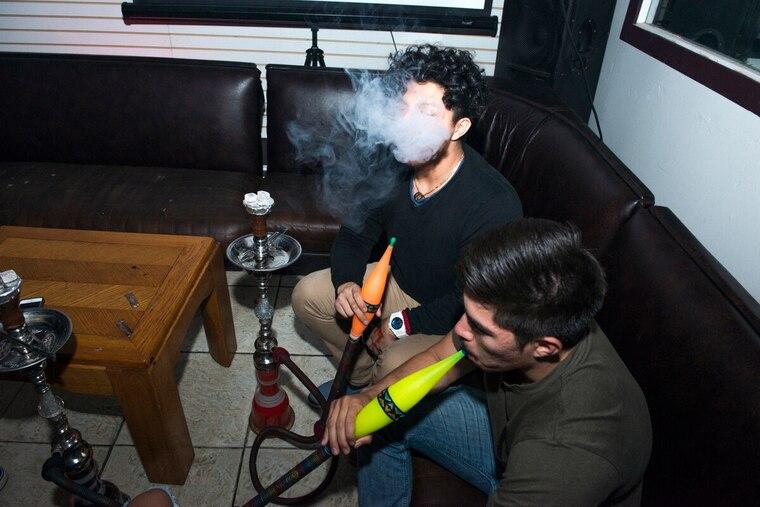 cigarro electrónico inhalar