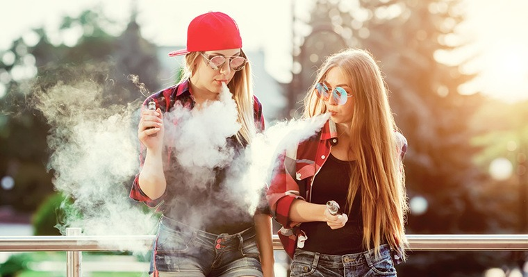 cigarro electrónico jovenes