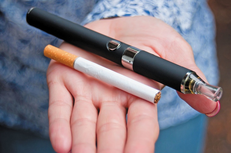 cigarro electrónico vapor