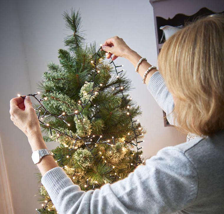 cómo adornar un árbol de navidad comienzo