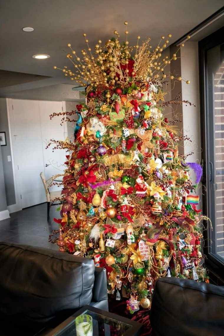 cómo adornar un árbol de navidad completo