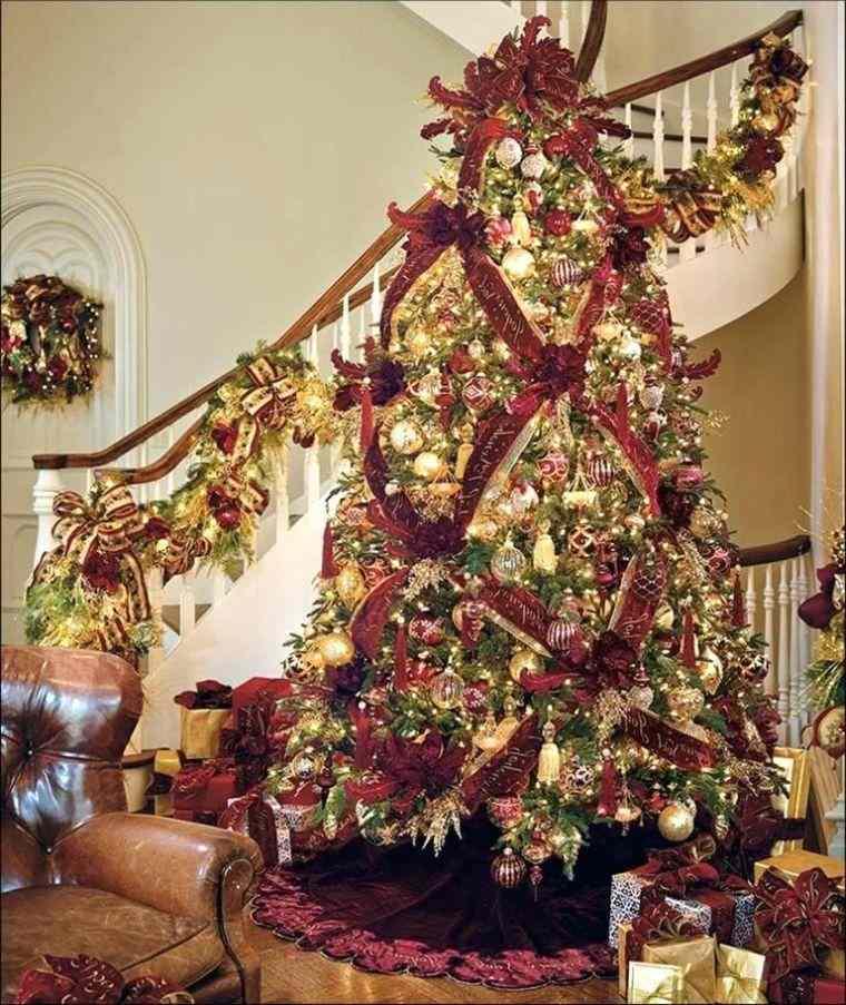 cómo adornar un árbol de navidad elegante