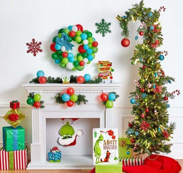 cómo adornar un árbol de navidad globoss