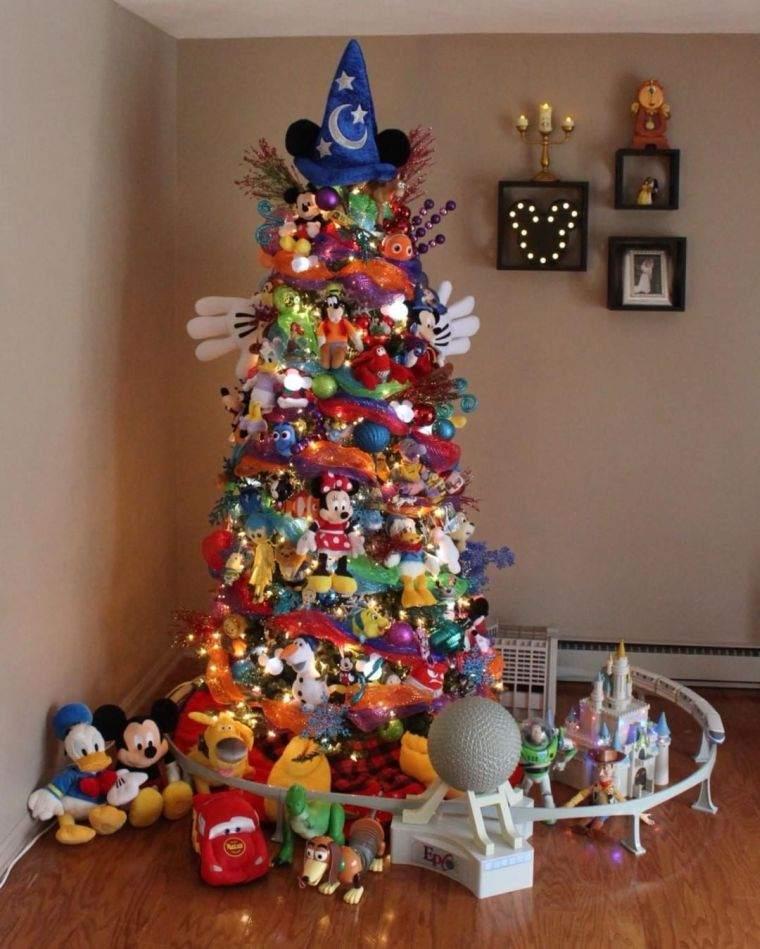cómo adornar un árbol de navidad mickey