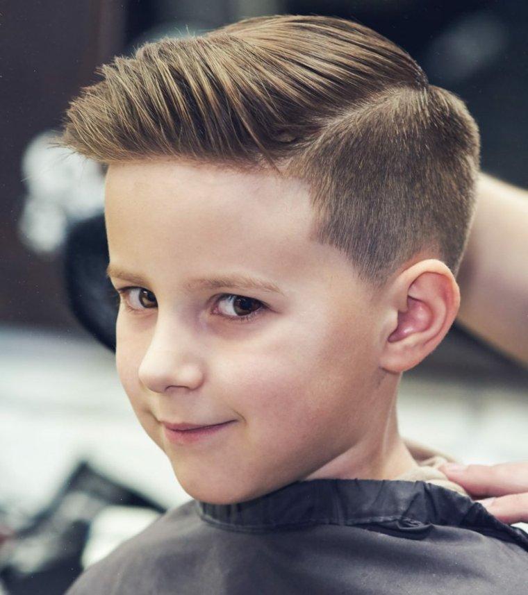 Estilos y cortes de pelo para niños