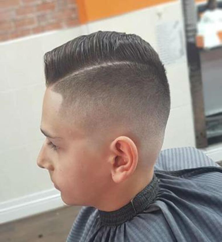 tendencias en cortes de pelo para niños