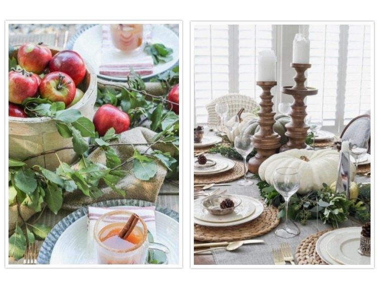 decoracion de mesas manteles colores