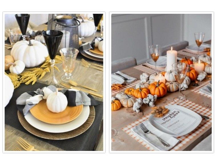 decoracion de mesas platos tematicos
