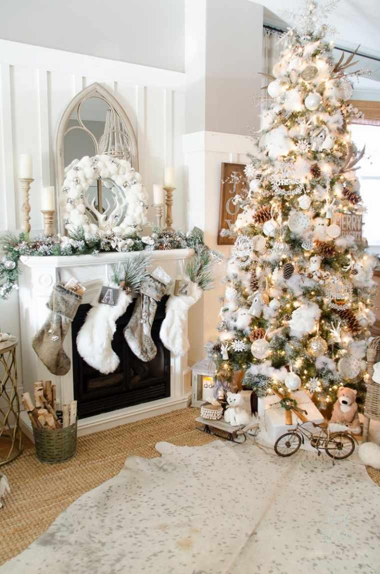 decoracion-navidad-2019-blanco-sala-estar