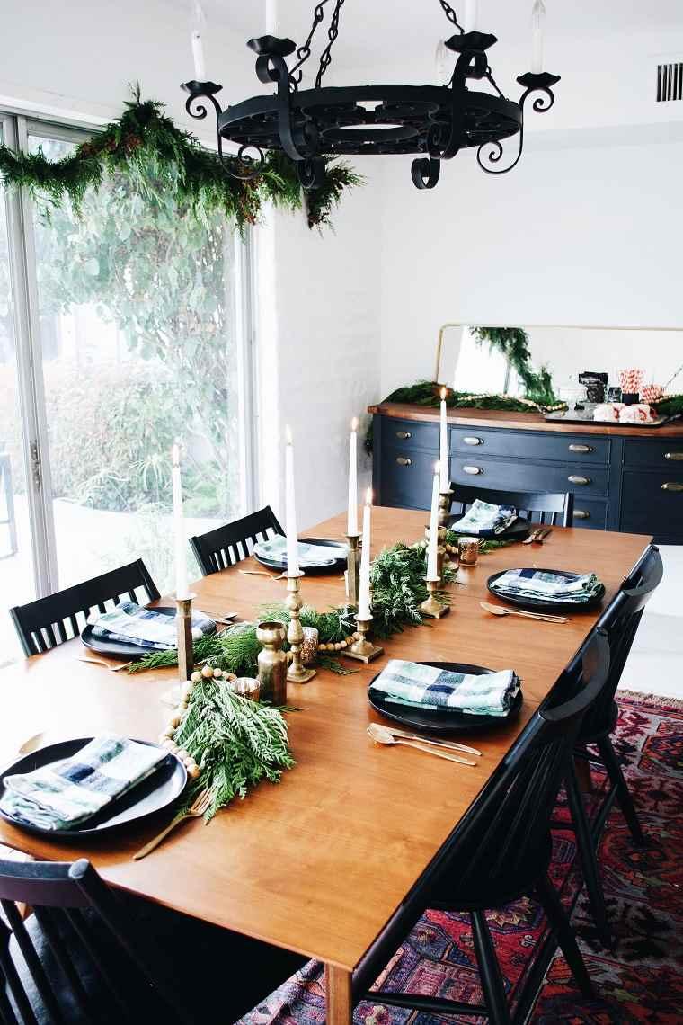 decoracion-navidad-2019-diseno-vintage-mesa