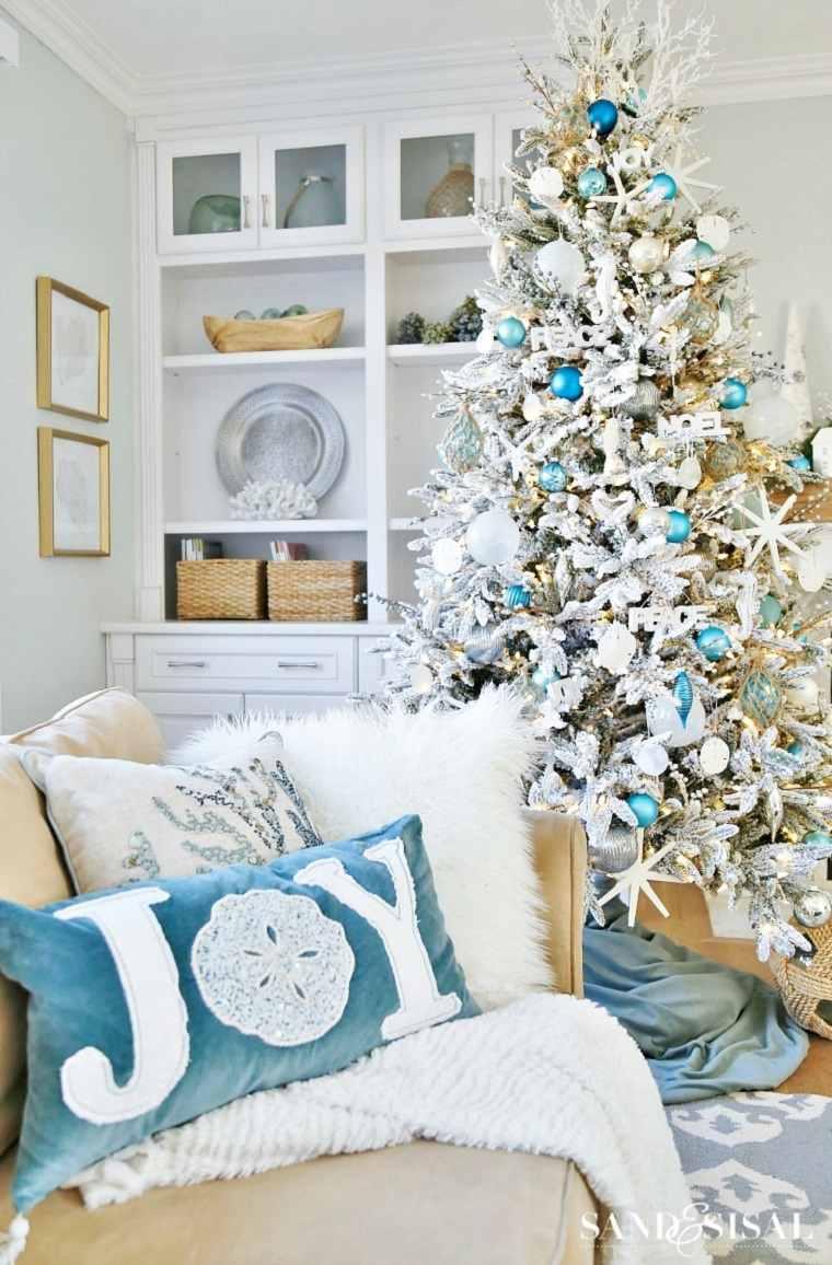 Decoración navidad 2019-estilo-maritimo-ideas