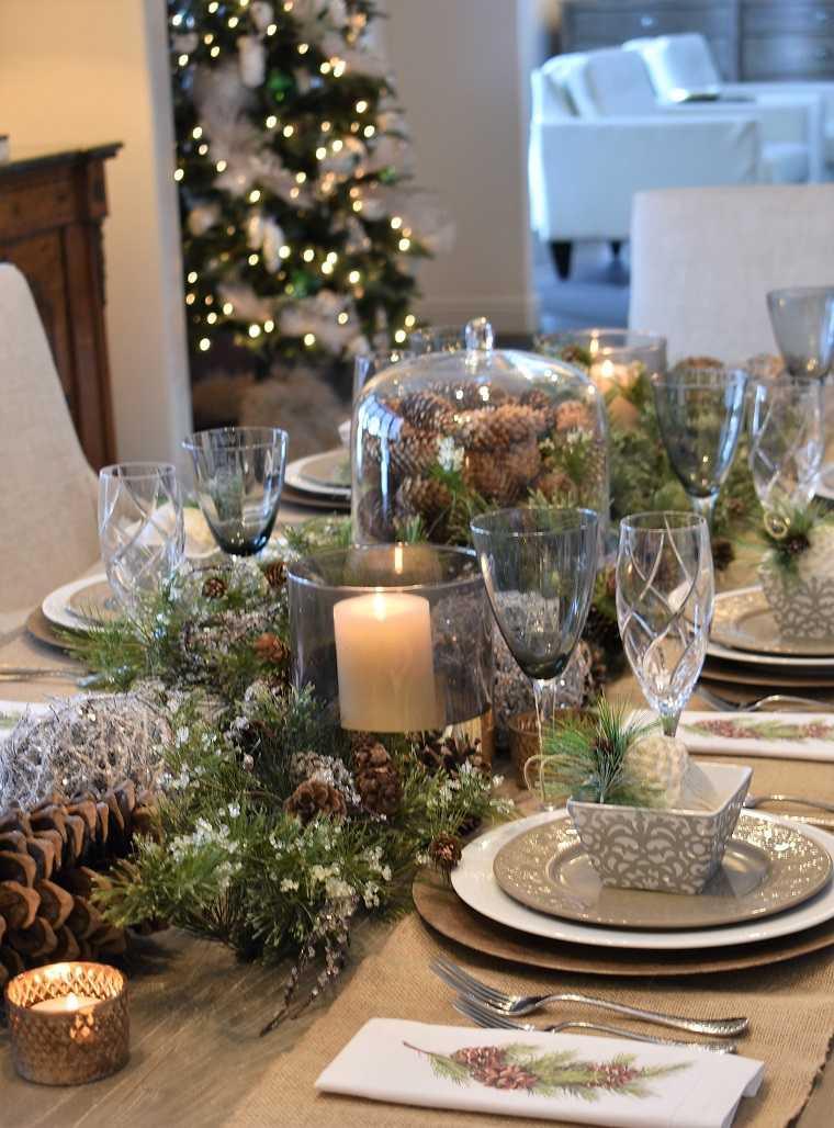 decoracion-navidad-2019-pinos-mesa