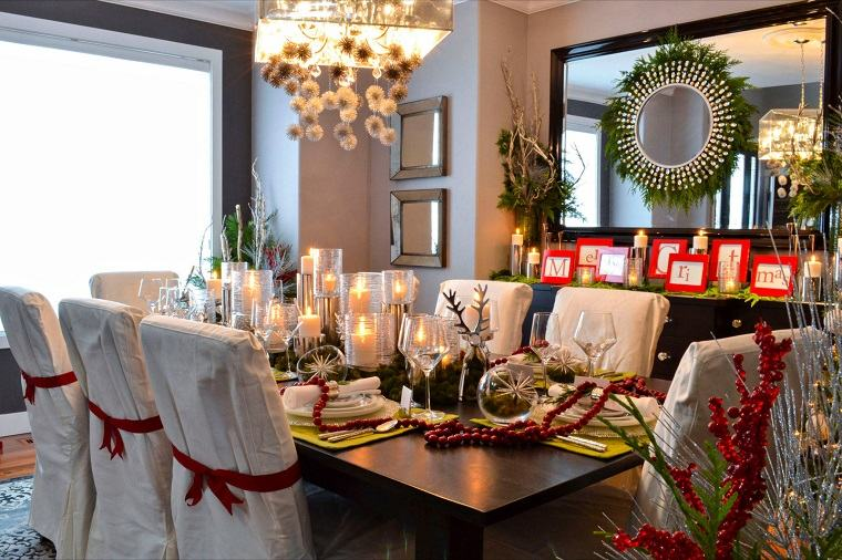 decoracion-navidena-tradicional-comedor
