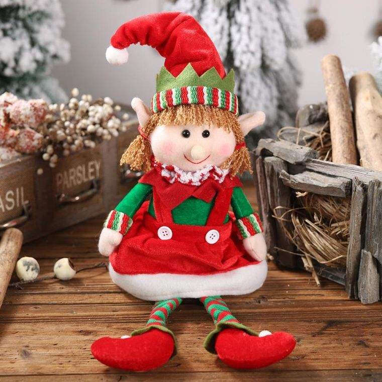 duendes navideños amigos
