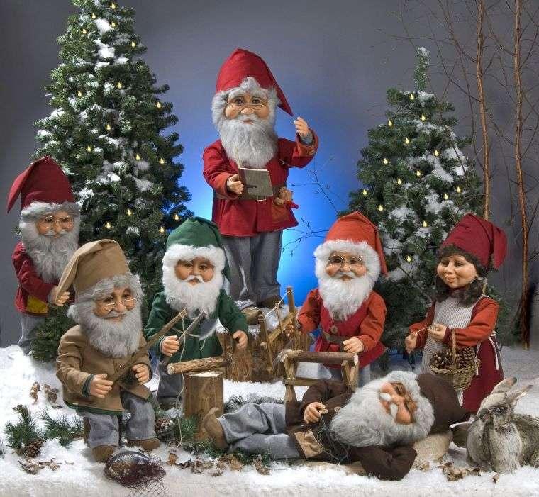 duendes navideños baraba