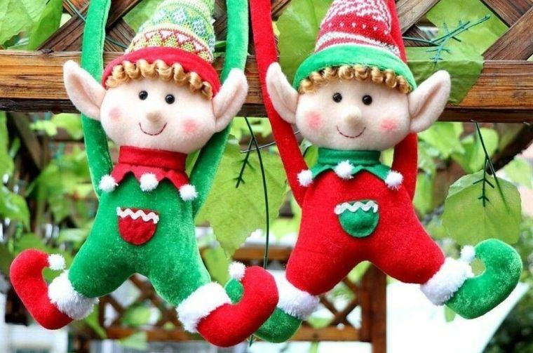duendes navideños duo